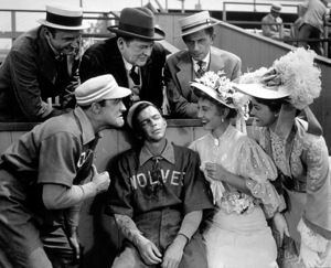 """Take Me Out To The Ball Game""Edward Arnold, Gene Kelly, Frank Sinatra, Betty Garrett, Esther Williams.1949 MGM - Image 11996_0001"