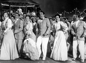 """""""Take Me Out Of The Ball Game""""Esther Williams, Frank Sinatra,Betty Garrett, Jules Munshin, Gene Kelly.1949 MGM - Image 11996_0002"""