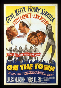 """""""On the Town""""Poster1949 MGM**I.V. - Image 11997_0006"""