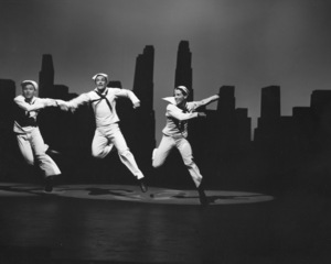 """""""On the Town""""Gene Kelly and dancers1949 MGM**I.V. - Image 11997_0008"""