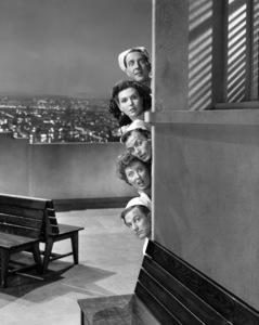 """On the Town""Jules Munshin, Ann Miller, Frank Sinatra, Betty Garrett, Gene Kelly1949 MGM** I.V. - Image 11997_0022"