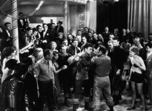 """Rough Romance,"" Fox Film Studio 1930.John Wayne and George O"