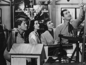 """""""Boom Town""""Spencer Tracy, Hedy Lamarr, Claudette Colbert,Clark Gable1940 MGMMPTV - Image 12006_0001"""