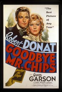 """Goodbye Mr. Chips""Poster © 1939 MGM**I.V. - Image 12007_0004"