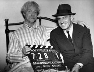 """Goodbye Mr. Chips""Robert Donat & Sam Wood 1939 MGM**I.V. - Image 12007_0008"