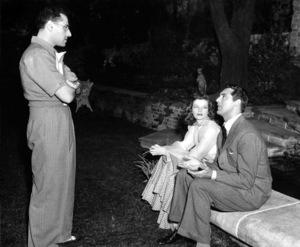 """Philadelphia Story, The""Director George Cukor, Katharine Hepburn, Cary Grant(1940)MGM / **I.V. - Image 12011_0024"