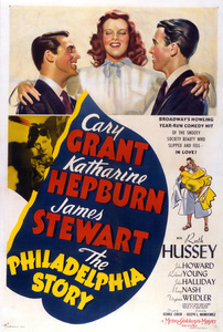 """""""The Philadelphia Story""""Poster1940 MGM**I.V. - Image 12011_0028"""