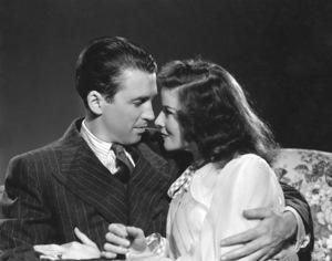 """The Philadelphia Story""James Stewart, Katharine Hepburn1940 MGM**I.V. - Image 12011_0029"
