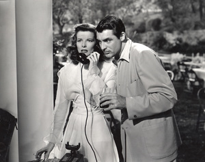 """The Philadelphia Story""Katharine Hepburn, Cary Grant1940 MGM**I.V. - Image 12011_0030"