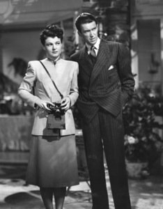 """The Philadelphia Story""Ruth Hussey, James Stewart1940 MGM**I.V. - Image 12011_0033"