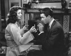 """The Philadelphia Story""Katharine Hepburn, James Stewart1940 MGM**I.V. - Image 12011_0035"