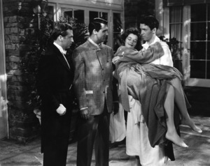 """The Philadelphia Story""John Howard, Cary Grant, Katharine Hepburn, James Stewart1940 MGM** B.L. - Image 12011_0037"