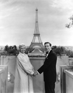 """April in Paris""Doris Day, Ray Bolger1952 Warner BrothersPhoto by Graybill - Image 1201_0002"