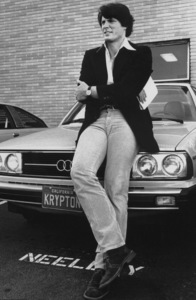 Christopher Reeveand his Audi 50001978 © 1978 Ulvis Alberts - Image 1202_0040