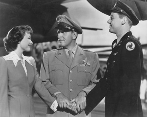 """Thirty Seconds Over Tokyo""Phyllis Thaxter, Spencer Tracy, Van Johnson1944 MGM - Image 12029_0003"