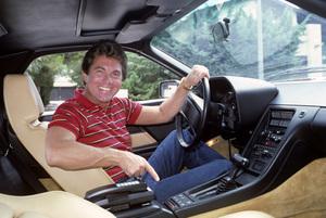Larry Manetti in his 928 Porsche1984 © 1984 Gene Trindl - Image 12036_0006