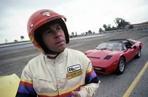 Larry Manetti and 308 Ferrari GTS Quatrovalve1983 © 1983 Gunther - Image 12036_0012