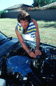LARRY MANETTIIN HAWAII WITH HIS 1981 MAZDA RX7GS / 1981 © 1981 GENE TRINDL / MPTV - Image 12036_4