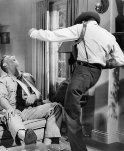 """Sterling Hayden and Frank Sinatra in """"Suddenly""""1954 United Artists** I.V. - Image 12046_0008"""