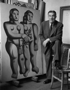 Fernand Leger in Paris1948© 1978 Sanford Roth / L.A.C.M.A. - Image 12052_0002