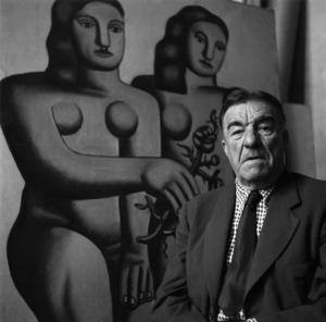 Fernand Leger in Paris1948© 1978 Sanford Roth / L.A.C.M.A. - Image 12052_0004