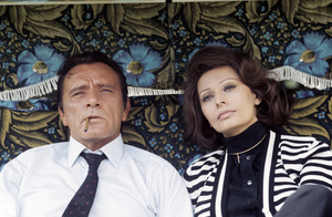 """The Voyage""Richard Burton, Sophia Loren1974 C.A.P.A.C. © 1978 Gunther - Image 12061_0004"
