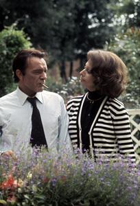 """The Voyage""Richard Burton, Sophia Loren1974 C.A.P.A.C. © 1978 Gunther - Image 12061_0005"