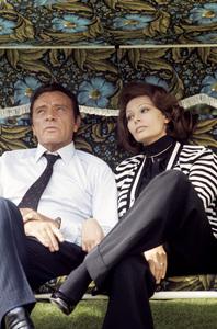 """The Voyage""Richard Burton, Sophia Loren1974 C.A.P.A.C. © 1978 Gunther - Image 12061_0009"