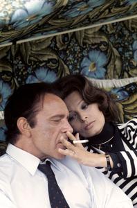 """The Voyage""Richard Burton, Sophia Loren1974 C.A.P.A.C. © 1978 Gunther - Image 12061_0024"