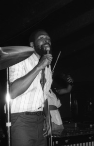 Marvin Gaye at his 40th birthday party being given by Motown Records1979© 1979 Bobby Holland - Image 12163_0046