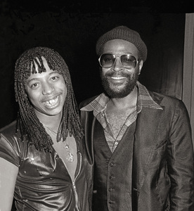 Rick James and Marvin Gayecirca 1979© 1979 Bobby Holland - Image 12163_0200a
