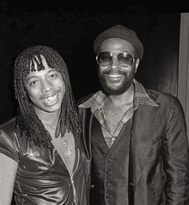 Rick James and Marvin Gayecirca 1979© 1979 Bobby Holland - Image 12163_0200a