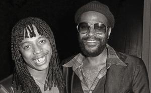 Rick James and Marvin Gayecirca 1979© 1979 Bobby Holland - Image 12163_0200b