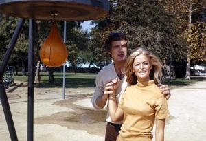 Lee Majorsand Farrah FawcettOctober 1969**H.L. - Image 12177_0014