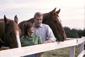 Lee Majors and Patti Chandler1965 © 1978 Gene Trindl - Image 12177_0019