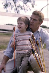 Lee Majors and his son, Lee Majors II1965 © 1978 Gene Trindl - Image 12177_0022