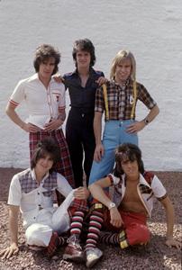 The Bay City Rollers (Stuart John Wood, Les McKeown, Alan Longmuir, Eric Faulkner, Derek Longmuir)circa 1974© 1978 Gunther - Image 12179_0001
