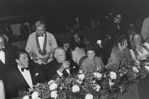 """James Cagney Award Celebration""Ronald & Nancy Reagan,James Cagney3-13-74 © 1978 Gunther - Image 12249_0002"