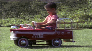 Kids CategoryRon Avery riding a Pedal Car1961 © 1978 Sid Avery - Image 12261_0016