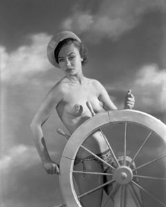 Pin-ups / Nudes (Willemina Lathan)circa 1950s © 1978 Wallace Seawell - Image 12274_0007