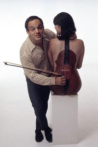 Pin-Ups (photographer Mario Casilli holding bow)1967 © 1978 Mario Casilli - Image 12274_0021