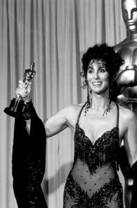 """Academy Awards: 60th Annual,"" Cher (Best Actress). 1988. © 1988 Gunther - Image 12279_0003"