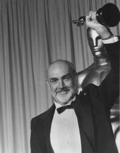 """Academy Awards - 60th Annual""Sean Connery (Best Supporting Actor)1988 © 1988 Gunther - Image 12279_0010"
