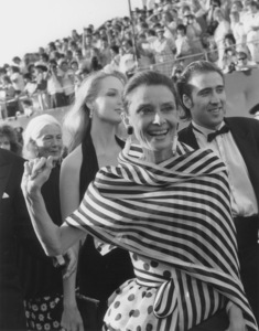 """""""Academy Awards - 60th Annual""""Audrey Hepburn, Nicolas Cage (Background)1988 © 1988 Gunther - Image 12279_0013"""
