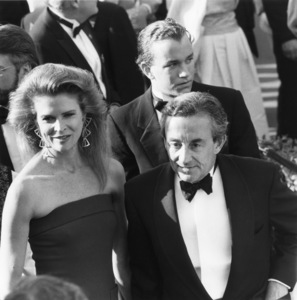 """The 60th Annual Academy Awards""Candice Bergen, Louis MalleApril 11, 1988© 1988 Gunther - Image 12279_0015"