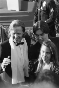 """The 60th Annual Academy Awards""Jon Voight, Angelina Jolie, James Haven1988 © 1988 Gunther - Image 12279_0025"
