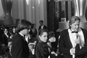 """The 60th Annual Academy Awards""Jon Voight, Angelina Jolie, James Haven1988 © 1988 Gunther - Image 12279_0028"