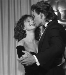 """The 60th Annual Academy Awards""Jennifer Grey, Patrick Swayze1988 © 1988 Gunther - Image 12279_0030"