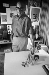 Saul Bass1961© 1978 Bob Willoughby - Image 12286_0001
