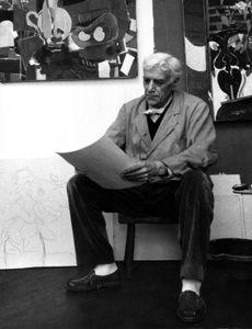 Georges Braquecirca 1950s © 1978 Sanford Roth / LACMA - Image 12291_0011